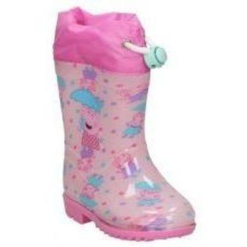 Chaussures Fille Bottes de pluie Cerda BOTAS DE AGUA  4449 PEPA PIG  NIÑA ROSA Rose