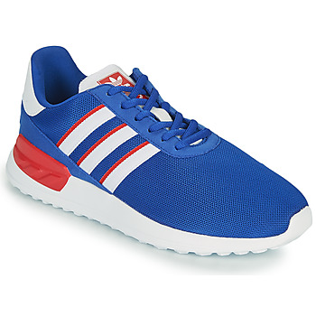 Chaussures Enfant Baskets basses adidas Originals LA TRAINER LITE J Bleu / Blanc