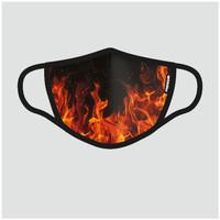Accessoires textile Masques Freegun MASQUE TISSU LAVABLE FIRE Autres