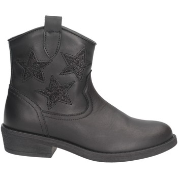 Chaussures Fille Boots Dianetti Made In Italy I9790B Texano Enfant NOIR NOIR