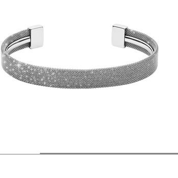Montres & Bijoux Femme Bracelets Skagen Bracelet jonc  maille milanaise Blanc