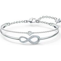 Montres & Bijoux Femme Bracelets Swarovski Bracelet jonc  Infinity Blanc