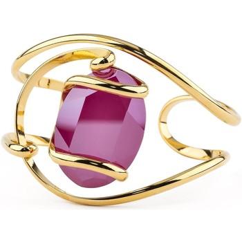 Montres & Bijoux Femme Bracelets Andrea Marazzini Bracelet jonc Andréa Marazzini New Drop Red Delite Jaune