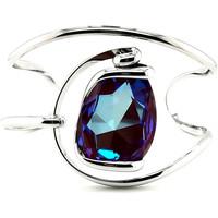Montres & Bijoux Femme Bracelets Andrea Marazzini Bracelet jonc  New Drop ametist Delite Blanc