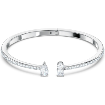Montres & Bijoux Femme Bracelets Swarovski Manchette  Attract M Blanc