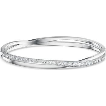 Montres & Bijoux Femme Bracelets Swarovski Bracelet  Twist S Blanc