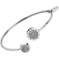 Montres & Bijoux Femme Bracelets Lotus Bracelet jonc  Collection Bliss Blanc