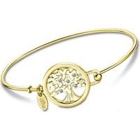 Montres & Bijoux Femme Bracelets Lotus Bracelet jonc  Collection Millennial arbre de vie doré Jaune