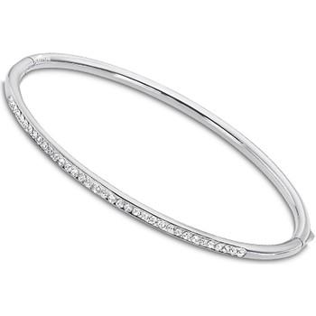 Montres & Bijoux Femme Bracelets Lotus Jonc  acier Blanc
