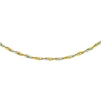 Montres & Bijoux Femme Colliers / Sautoirs Brillaxis Collier Brilaxis or bicolore 18 carats Multicolore