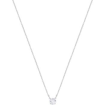 Montres & Bijoux Femme Colliers / Sautoirs Swarovski Collier  Attract Blanc
