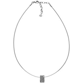 Montres & Bijoux Femme Colliers / Sautoirs Skagen Collier  acier Blanc