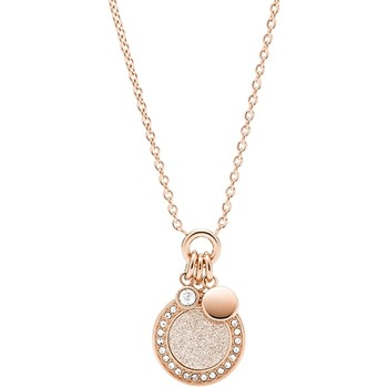 Montres & Bijoux Femme Colliers / Sautoirs Fossil Collier  Holiday Glitz Rose