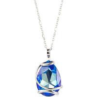 Montres & Bijoux Femme Colliers / Sautoirs Andrea Marazzini Collier Andréa Marazzini New Drop Blue Delite Blanc