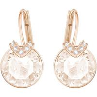 Montres & Bijoux Femme Boucles d'oreilles Swarovski Boucles d'oreilles  Bella V mini roses Rose