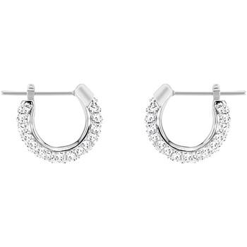 Montres & Bijoux Femme Boucles d'oreilles Swarovski Boucles d'oreilles  Stone small Blanc
