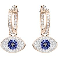 Montres & Bijoux Femme Boucles d'oreilles Swarovski Boucles d'oreilles  Duo Evil Eye Rose