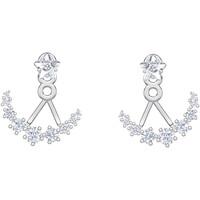 Montres & Bijoux Femme Boucles d'oreilles Swarovski Boucles d'oreilles  Moonsun Etoiles Blanc