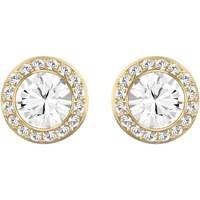 Montres & Bijoux Femme Boucles d'oreilles Swarovski Boucles d'oreilles  Angelic dorées Jaune