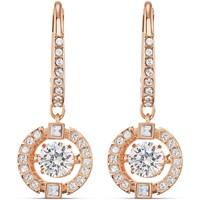 Montres & Bijoux Femme Boucles d'oreilles Swarovski Boucles d'oreilles  Sparkling Dance rosées Rose