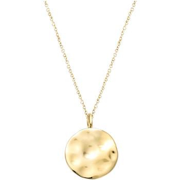 Montres & Bijoux Femme Pendentifs Go Mademoiselle Pendentif  cercle doré Jaune