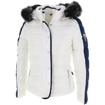 Vêtements Femme Doudounes Eldera Sportswear Maryland blcnavy doudoune Blanc