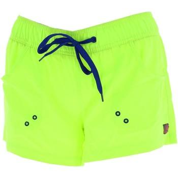 Vêtements Femme Shorts / Bermudas Culture Sud Towny jaune short fun Jaune