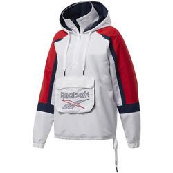 Vêtements Femme Coupes vent Reebok Sport Veste coupe-vent Blanc