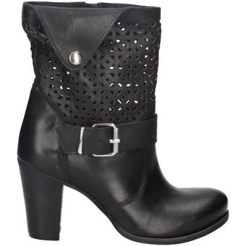 Chaussures Femme Bottines Melluso 01404X NOIR