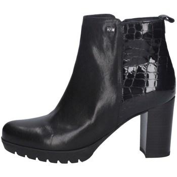 Chaussures Femme Bottines Valleverde 49373 NOIR