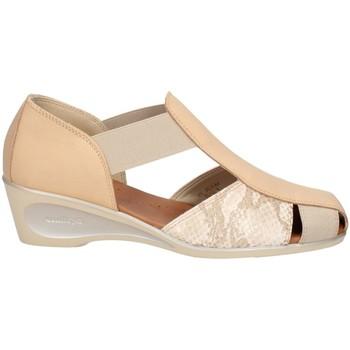 Chaussures Femme Sandales et Nu-pieds Melluso 08960X DES SANDALES Femme BEIGE BEIGE