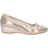 Chaussures Femme Sandales et Nu-pieds Melluso 08130L chaussures compensées Femme BEIGE BEIGE