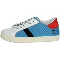 Chaussures Enfant Baskets basses Date J301 Blanc/Bleu clair