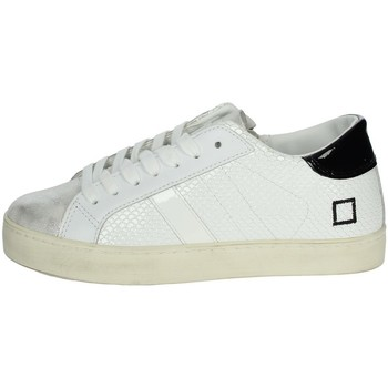 Chaussures Fille Baskets basses Date J301 Blanc
