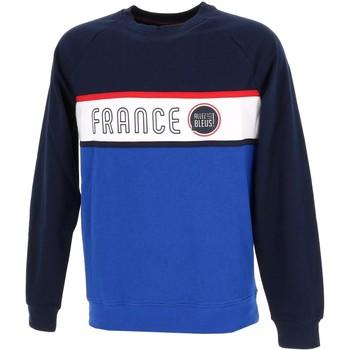 Vêtements Homme Sweats Allez Les Bleus sweat h france Bleu marine / bleu nuit