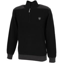 Vêtements Homme Pulls Rms 26 Seb noir halfzip pull Noir