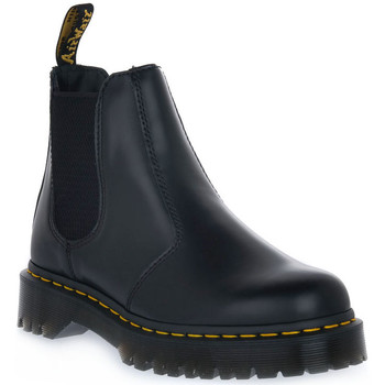 Chaussures Femme Boots Dr Martens 2976 BEX BLACK SMOOTH Nero