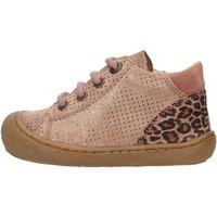Chaussures Garçon Baskets montantes Naturino - Polacchino rosa  antico ROMY-1M60