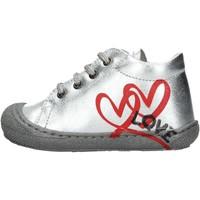 Chaussures Garçon Baskets montantes Naturino - Polacchino argento KOLBY-0Q04 ARGENTO