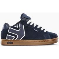 Chaussures Chaussures de Skate Etnies FADER NAVY GUM WHITE