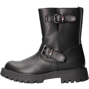 Chaussures Garçon Baskets mode Tommy Hilfiger - Bikers nero T3A5-30855 NERO