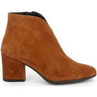 Chaussures Femme Low boots Grunland - Polacchino marrone PO1580 MARRONE