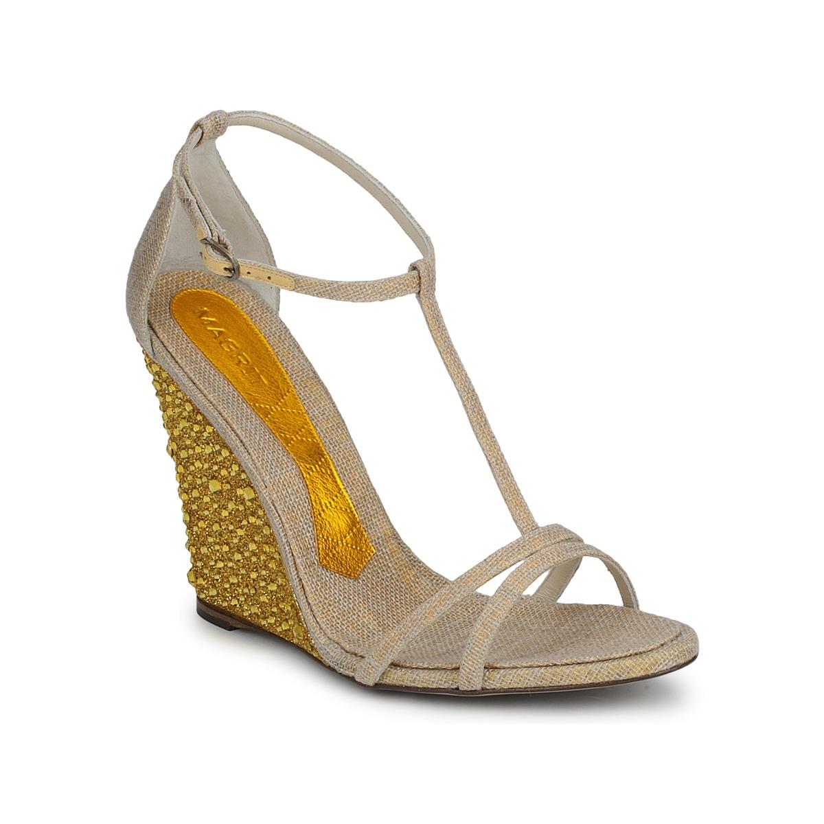 Sandale Magrit JOAQUINA Beige / Or