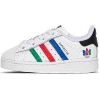 Chaussures Garçon Baskets basses adidas Originals - Superstar el bianco FW5240 BIANCO