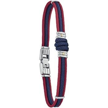 Montres & Bijoux Homme Bracelets Jourdan Bracelet  Omaha corde bicolore or acier Jaune