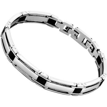 Montres & Bijoux Homme Bracelets Lotus Bracelet homme  Collection Style Acier Blanc