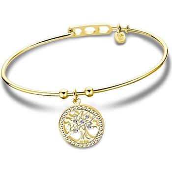 Montres & Bijoux Homme Bracelets Lotus Bracelet jonc  Collection Millennial doré Arbre de vie Jaune