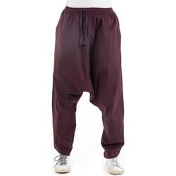 Vêtements Pantalons fluides / Sarouels Fantazia Sarouel droit basique original Pramukha Marron