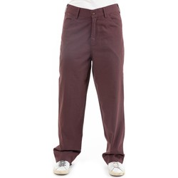 Vêtements Chinos / Carrots Fantazia Pantalon droit mixte brown Naema Marron
