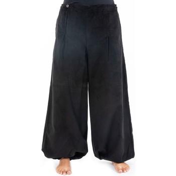 Vêtements Femme Calvin Klein Jeans Fantazia Pantalon large femme hiver velours Selma Noir